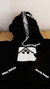 Printed clothing suppliers & T-shirt gallery. Roll House Skate Shop